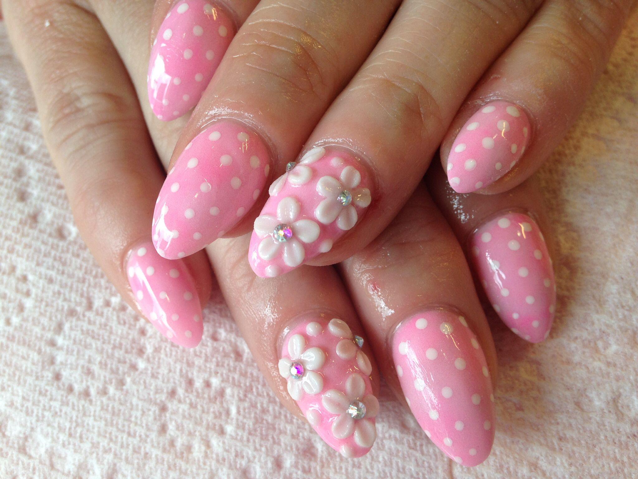 Girly Nails Nail Arts Pinterest Girly