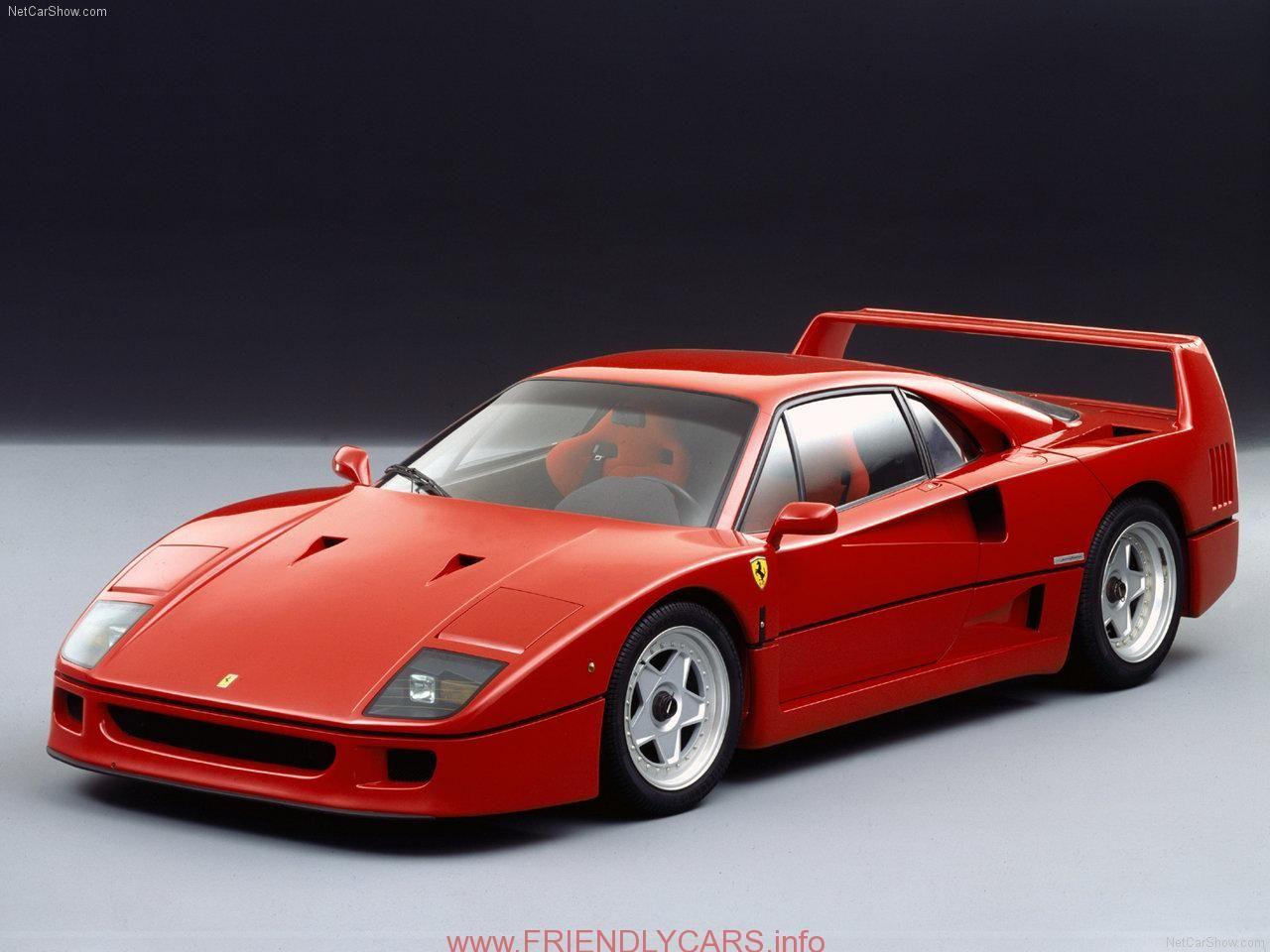 Nice Black Ferrari F40 Wallpaper Car Images Hd Ferrari F40 HD Wallpapers