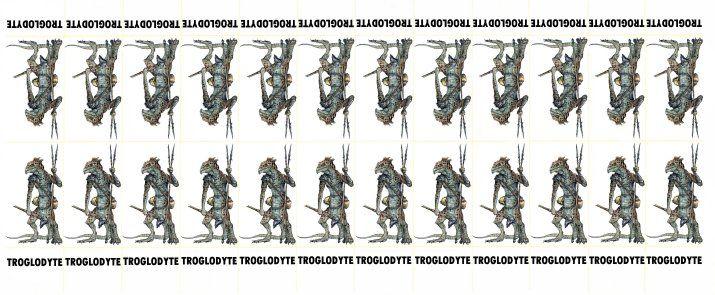 Fantasy Monsters 026 - Troglodytes