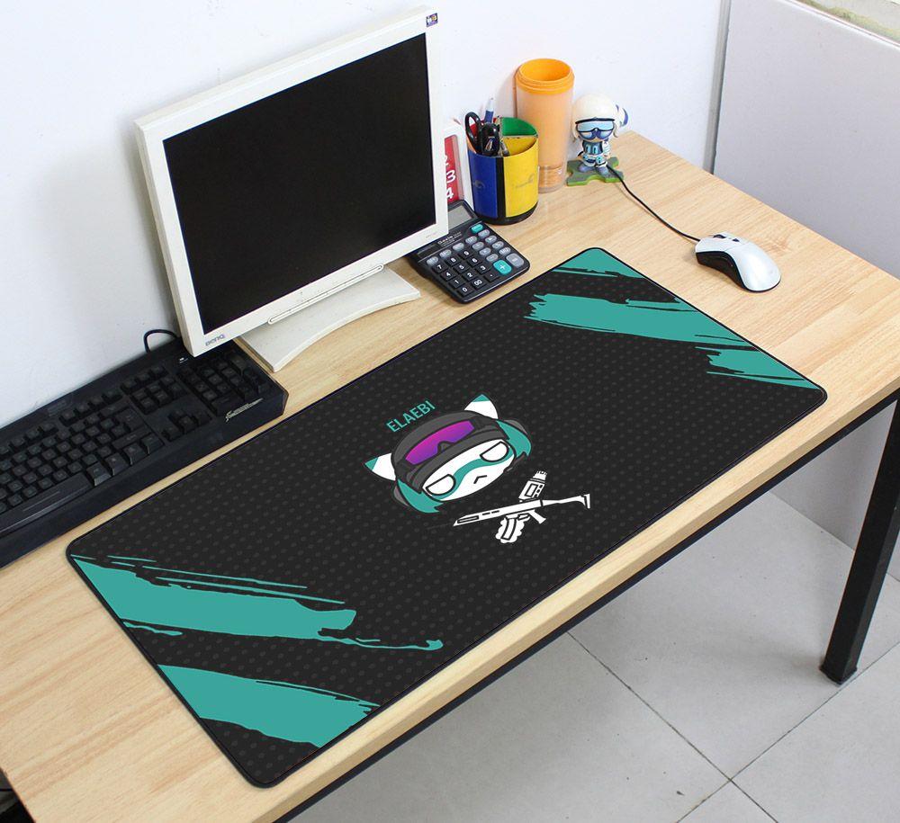 Rainbow Six Siege 70x40cm Super Large Mousepads Gamer Gaming Mouse Pads New Arrival Desk Mat For Chicken Dinner Tapis De So Mouse Pad Desk Mat Unique Mouse Pad