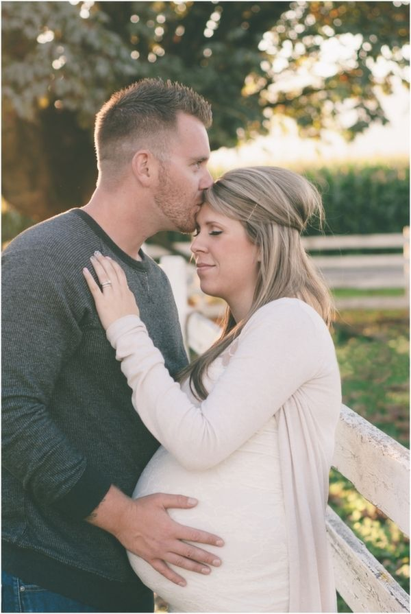 Fall Maternity Session for a Baby Girl by M Houser Photography