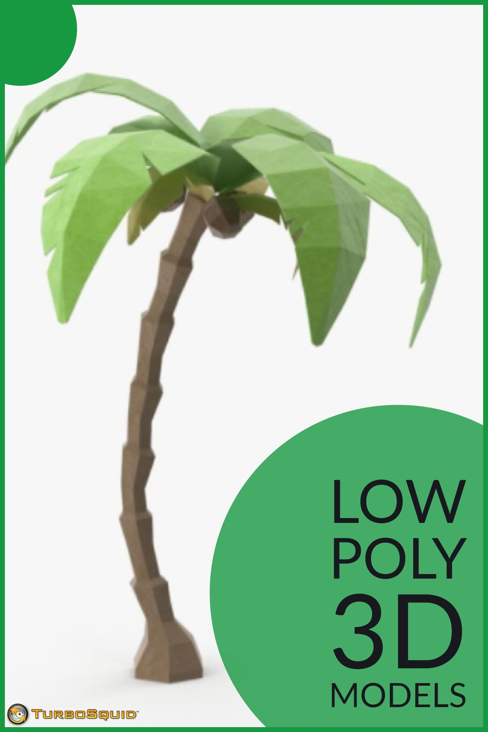 Low Poly Palm Tree 01 by Royalmix   Low Poly 3D Models in 2019