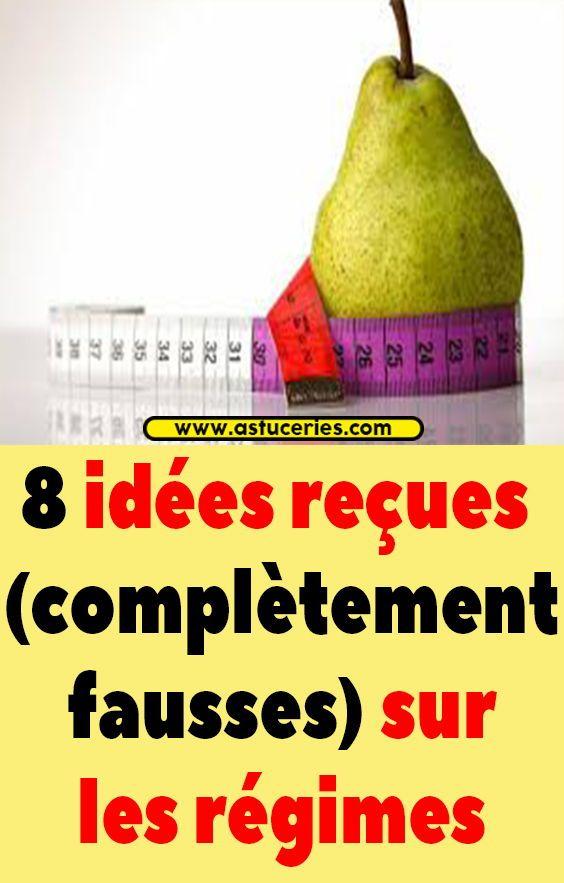 8 idées reçues (complètement fausses) sur les régimes
