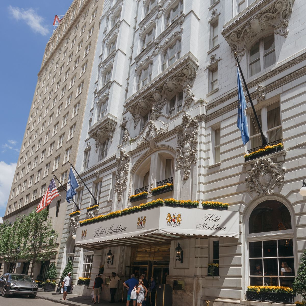 The Grande Dame Of New Orleans Hotel Monteleone New Orleans Hotels New Orleans Convention Center