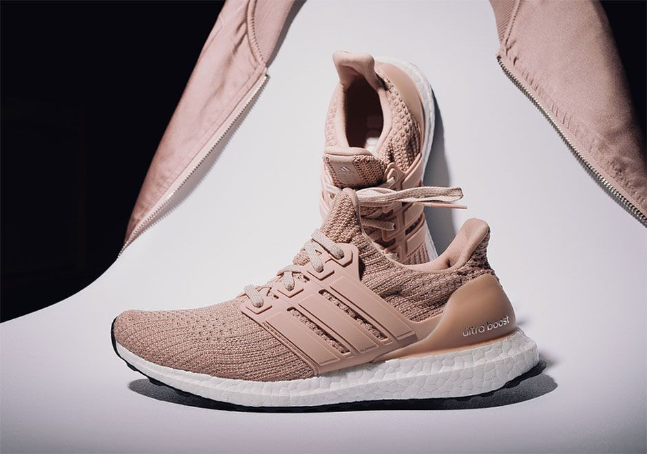 timeless design f84b5 14a39 adidas Gives The Ultra Boost 4.0 A Pastel Pink Makeover ...