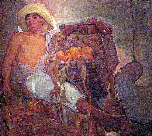 saturnino herran The Orange Seller, c. 1913