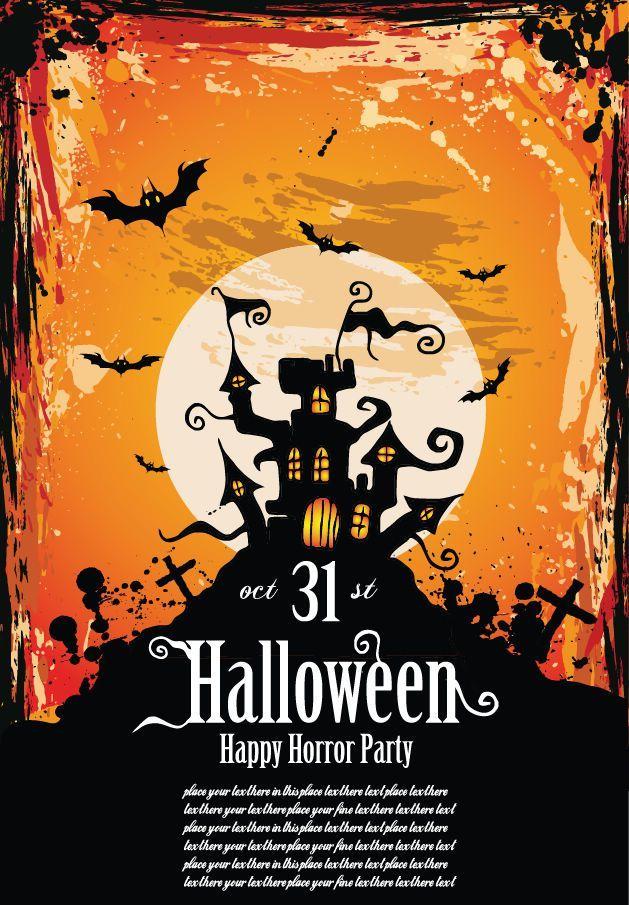 Halloween Flyer Template Stationary Templates Pinterest Flyer - halloween flyer template