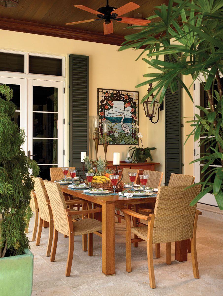 A Home In Bloom Florida design, Outdoor living, Outdoor