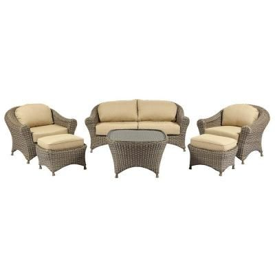 Martha Stewart Living Lake Adela Weathered Gray 6-Piece ... on Martha Stewart 6 Piece Patio Set id=74452
