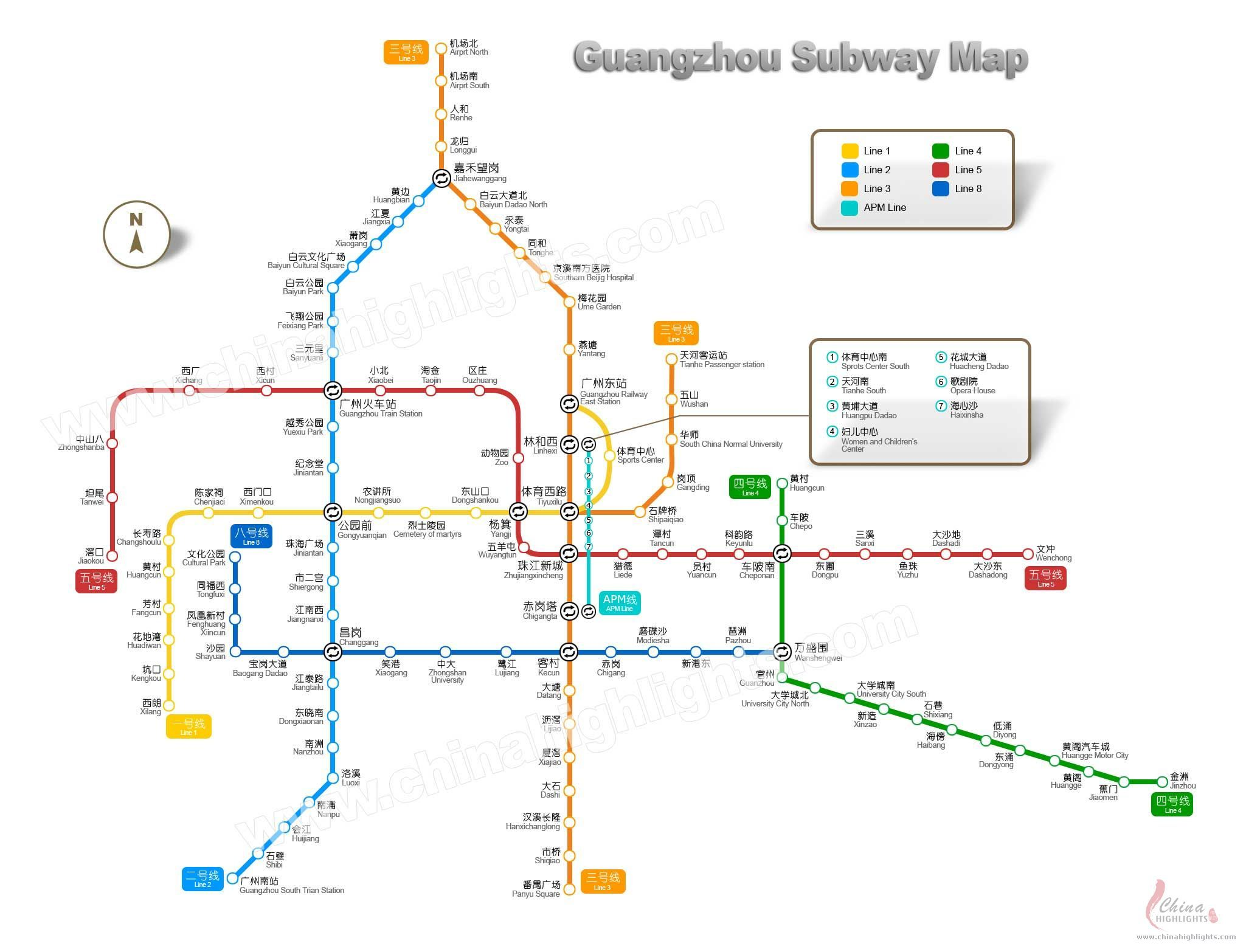 Guangzhou Subway Map How On Earth Is This Going To Work For A