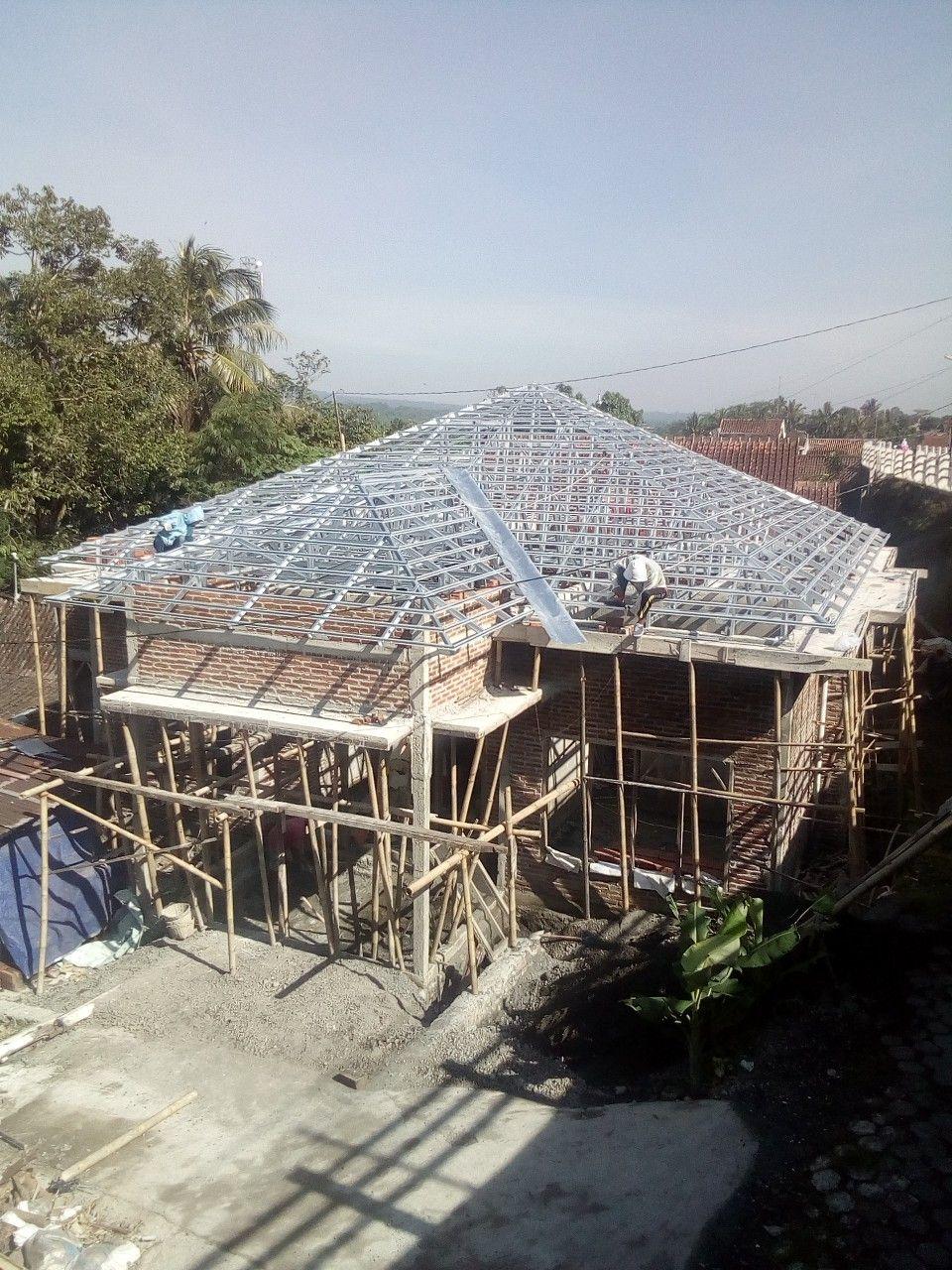 Rangka Baja Ringan Model Atap Piramid Rumah Desain Rumah Atap