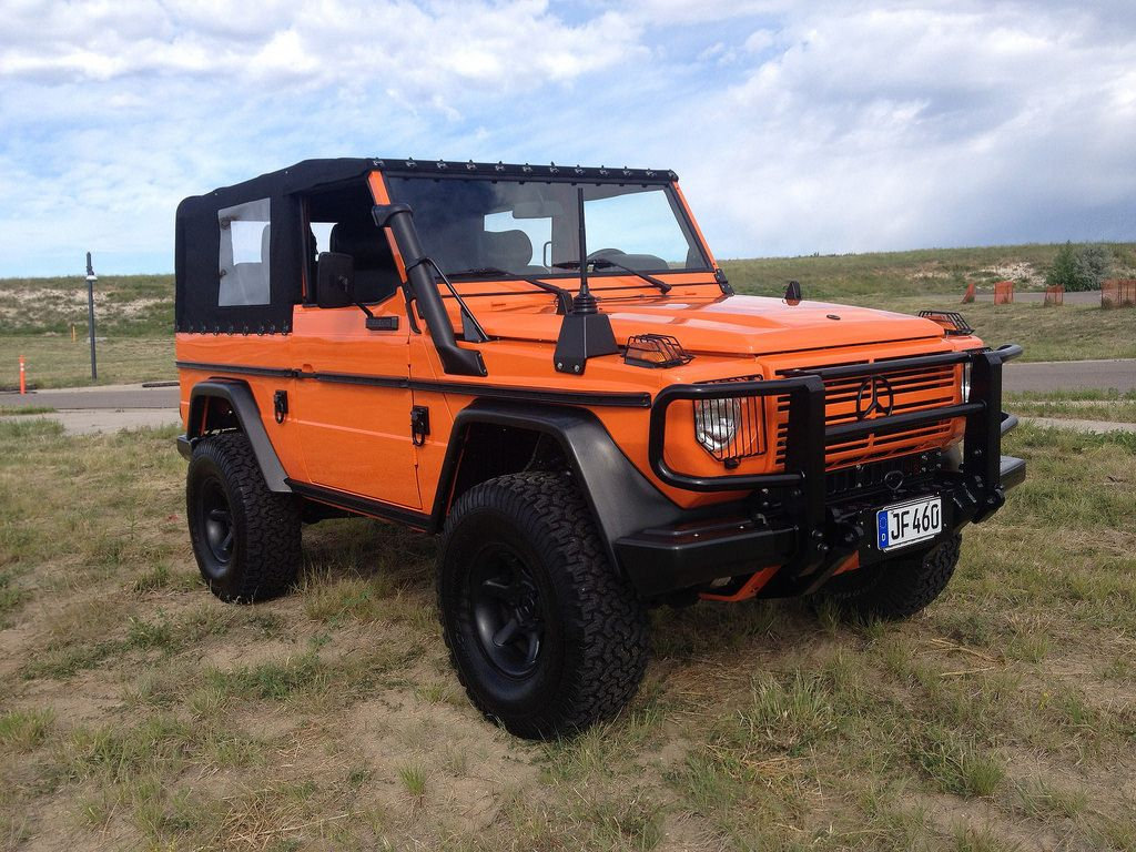 Fully custom 1985 mercedes benz 300gd wolf bring a for Jeep mercedes benz