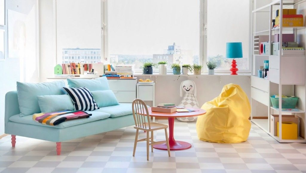 NEW Happy  Bright IKEA Slipcovers Bright, Spaces and House