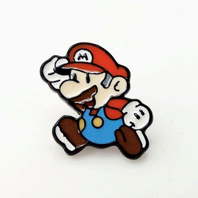 http://s.aliexpress.com/VjIRjeyu  #pingame #pingamestrong #enamel #mario #supermario #nintendo #brooch #cute #gamenerd #gamergirl
