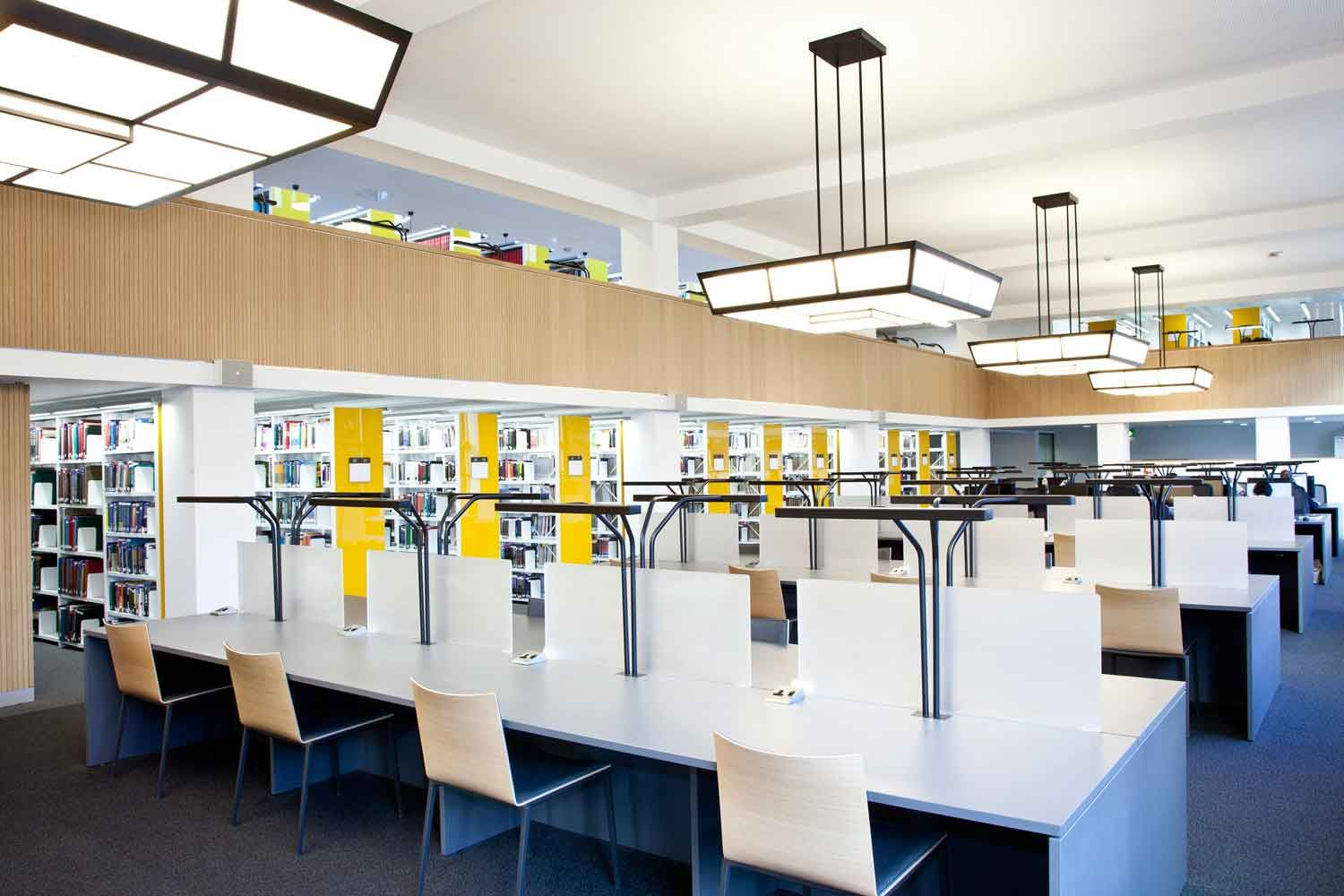 University Of Hull · Library FurnitureUniversity