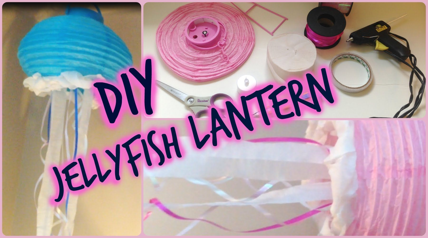 Paper Lantern Jellyfish Simple Diy Jellyfish Lanterns  Noah's Shower  Pinterest  Jellyfish And Review