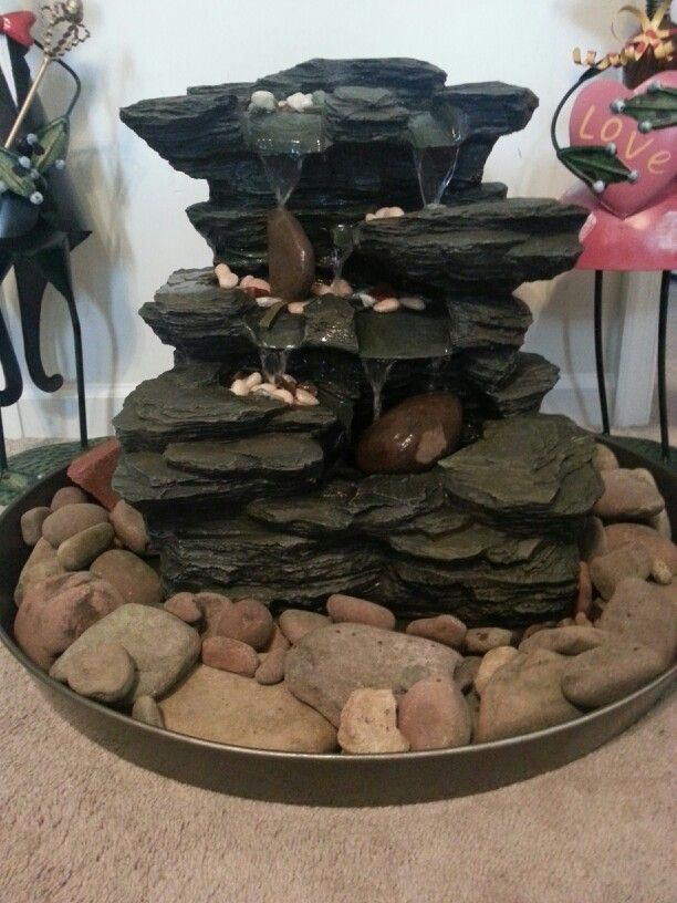 Diy Rock Fountain Diy Water Fountain Rock Fountain Diy Fountain