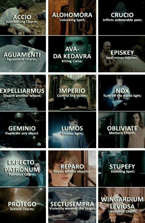 Pin By Kaylee Stultz On Harry Potter Harry Potter Texts Harry Potter Spells Harry Potter Characters