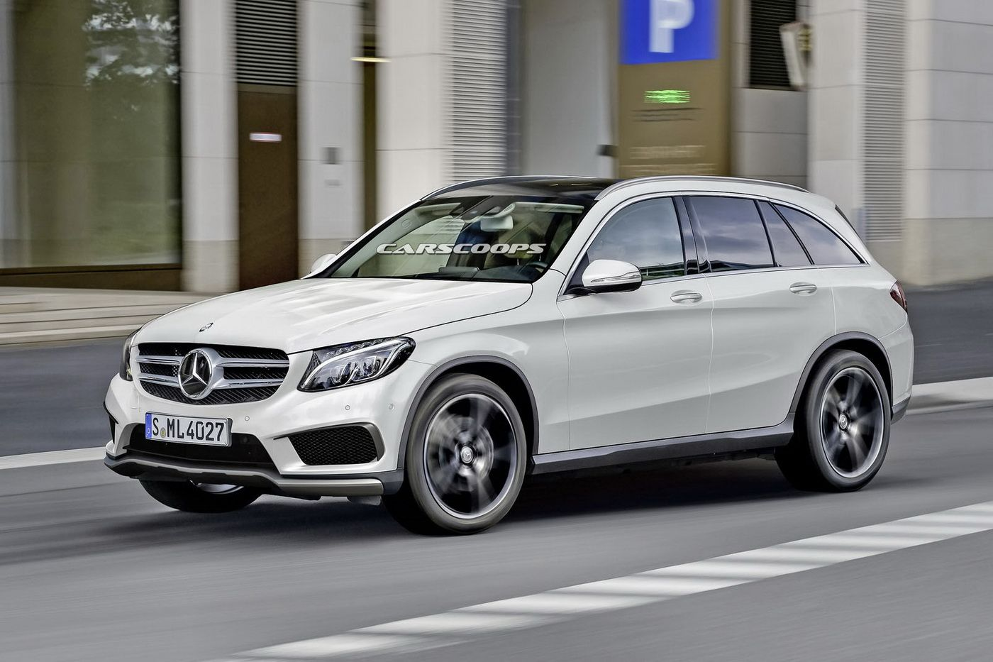 Scoop: New Mercedes GLC Plug-in Hybrid Coming This Fall | My Dream ...