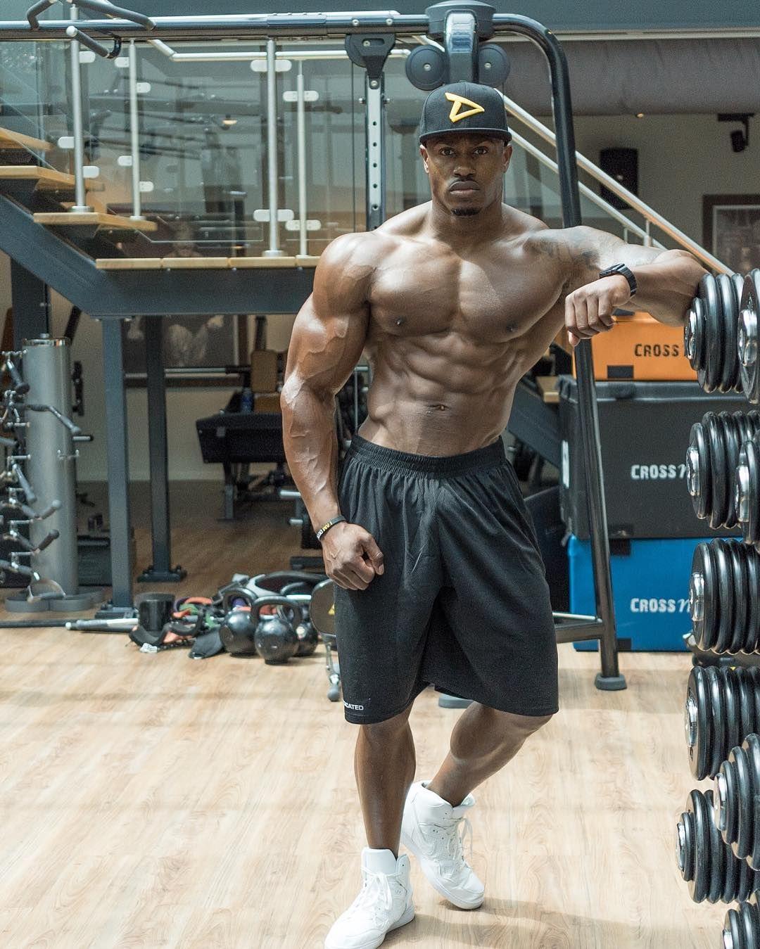 Simeon Panda Big Swole Panda Muscle Fitness Bodybuilding Workouts