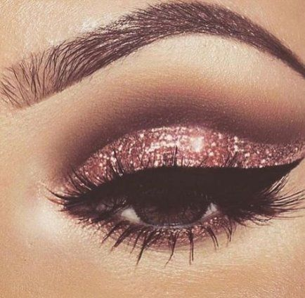 Photo of 54+ Ideas Eye Makeup Pink Glitter Rose Gold For 2019