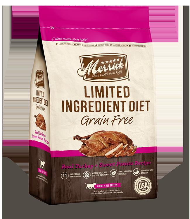 Merrick Limited Ingredient Diet Grain Free Turkey & Sweet