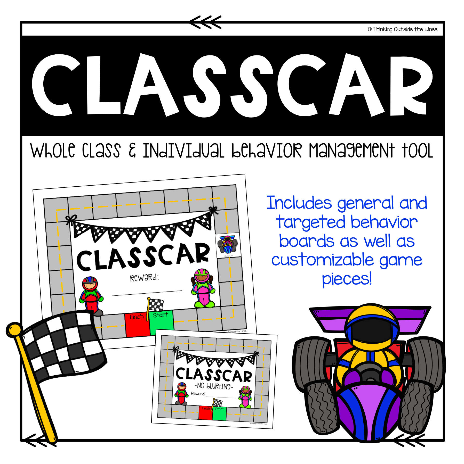This is a fun, exciting way to change up your classroom