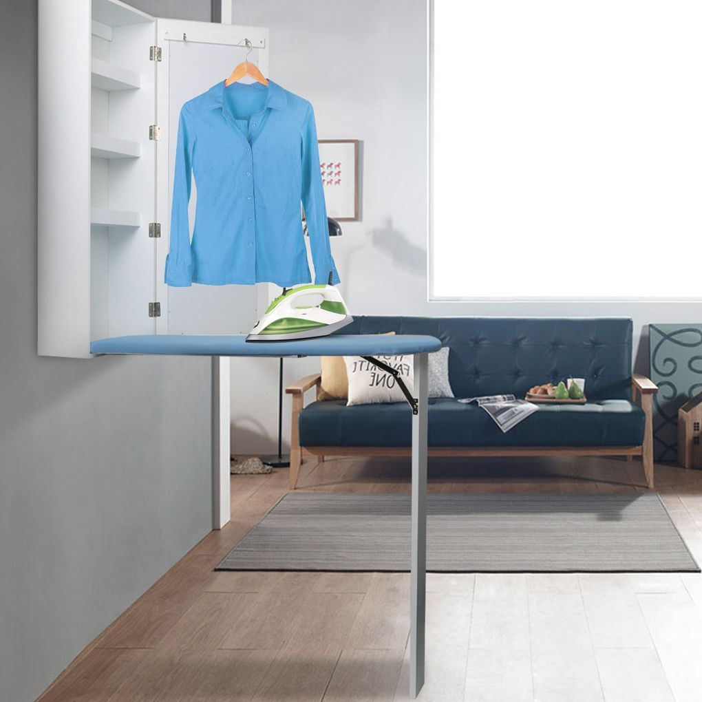 There Is Locking Latch On Back Of Ironing Board When You Finish Ironing You May Fold Up The Board Bedroom Storage Cabinets Ironing Board Storage Board Storage