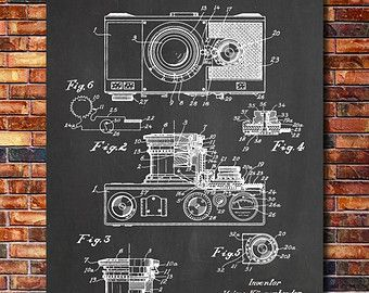 Camera poster vintage camera patent vintage camera print vintage camera poster vintage camera patent vintage by stanleyprinthouse malvernweather Images
