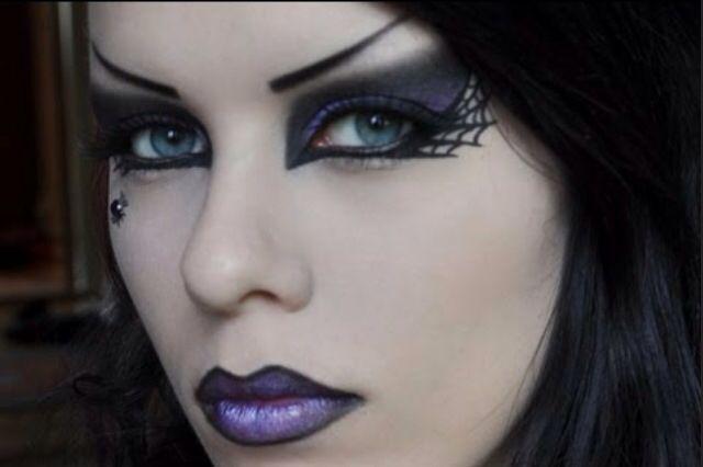 maquillaje halloween bruja sexy - Buscar con Google Disfraces