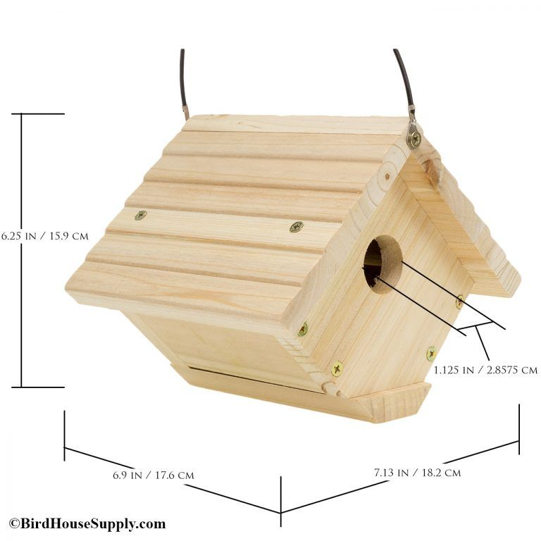 Woodlink Traditional Hanging Wren House