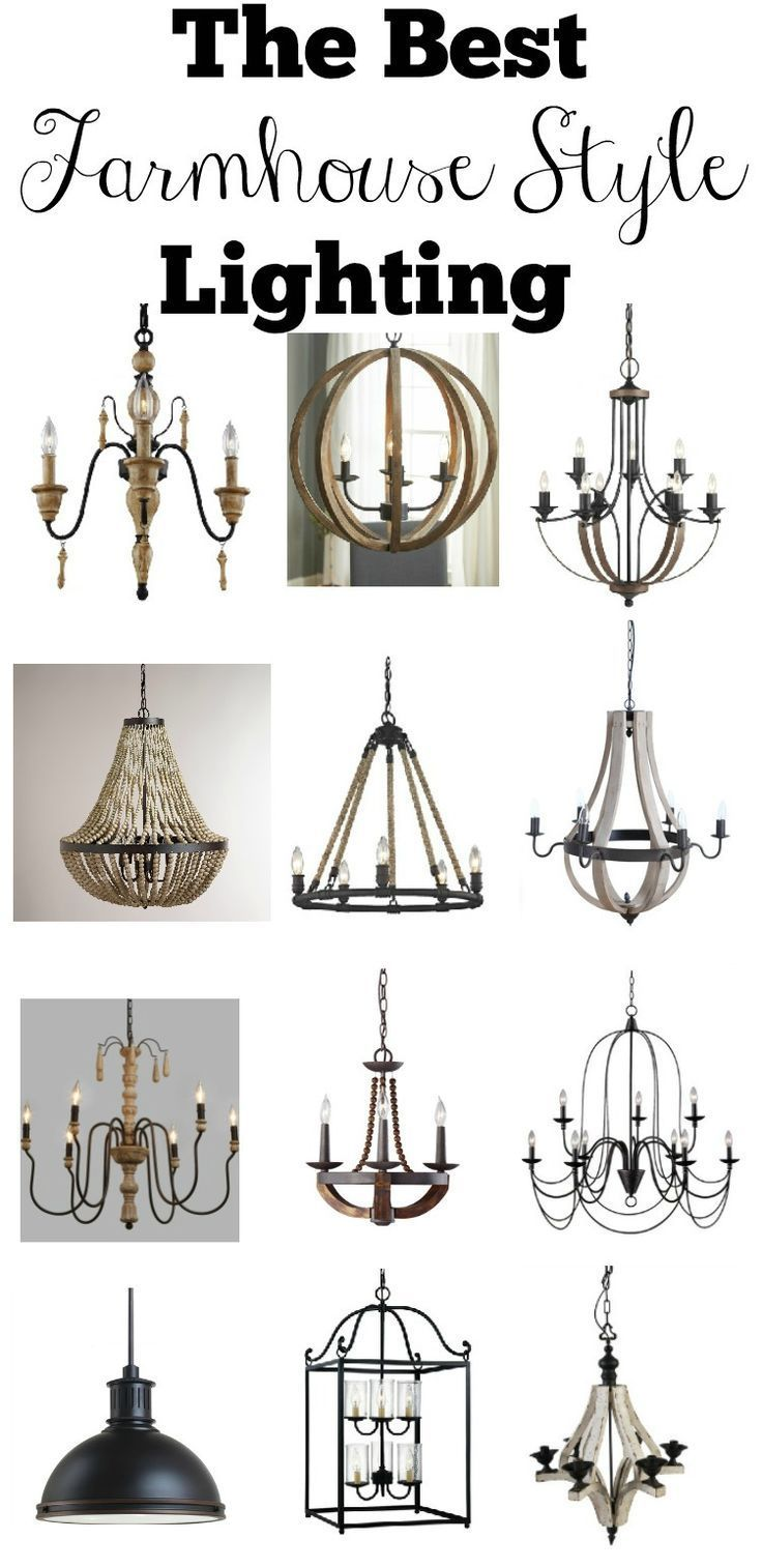 Transitioning to farmhouse style shopping guide farmhouse style the best farmhouse style lighting affordable lighting options for every room in your home arubaitofo Images