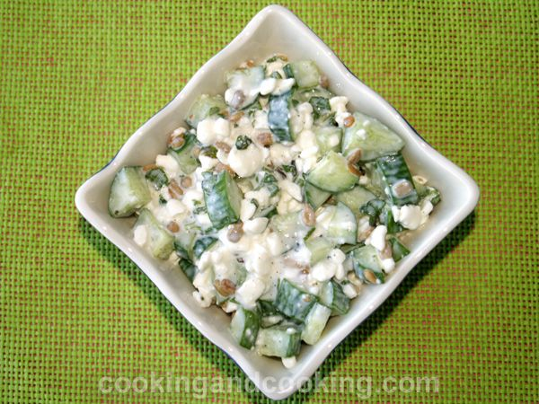 cucumber cottage cheese salad recipes in 2019 salad cottage rh in pinterest com