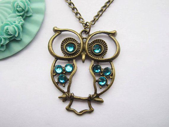 pan da's owl necklace