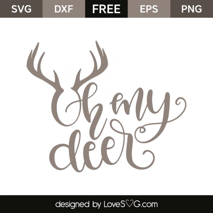 Oh my deer Cricut, Silhouette vinyl, Svg files for cricut
