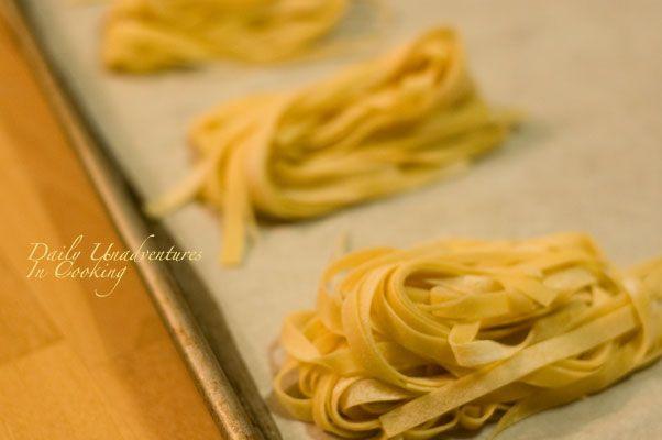How To Freeze Fresh Pasta Daily Unadventures In Cooking Homemade Pasta Homemade Pasta Recipe Fresh Pasta