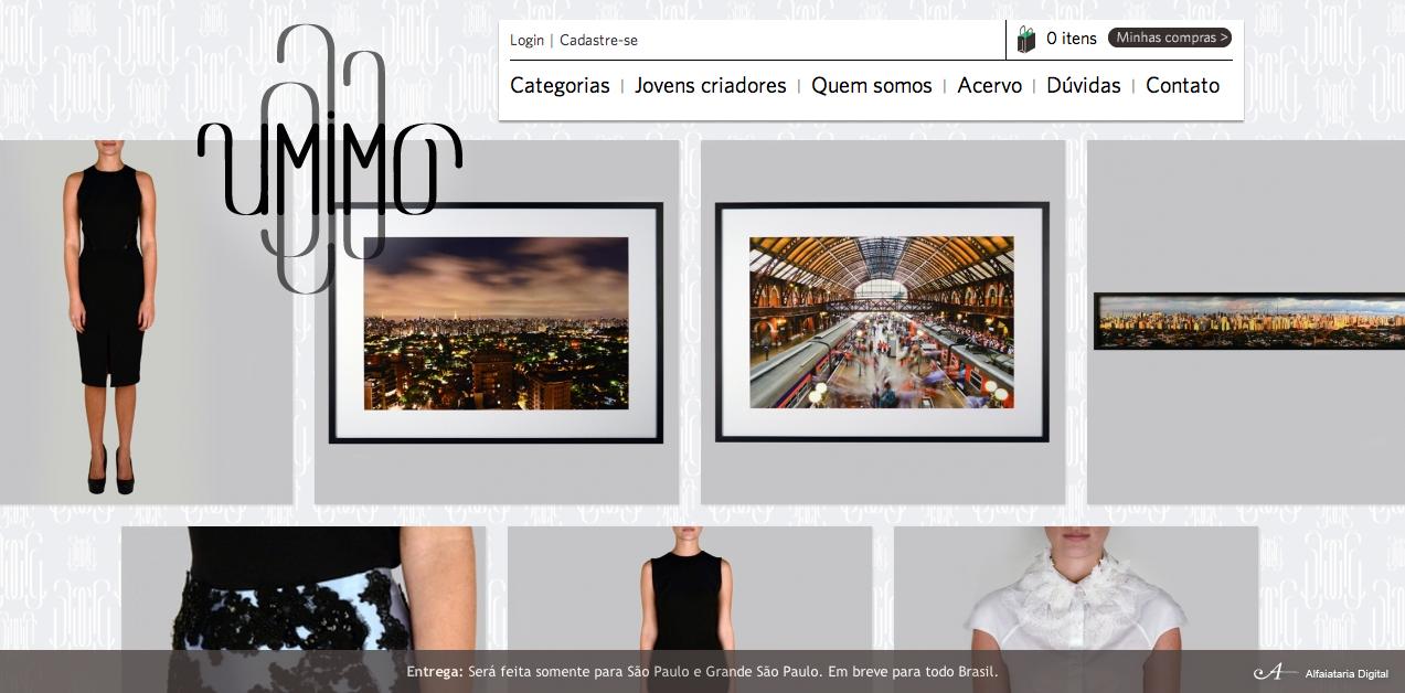 Umimo a nova loja online de LUXO brasileiro!