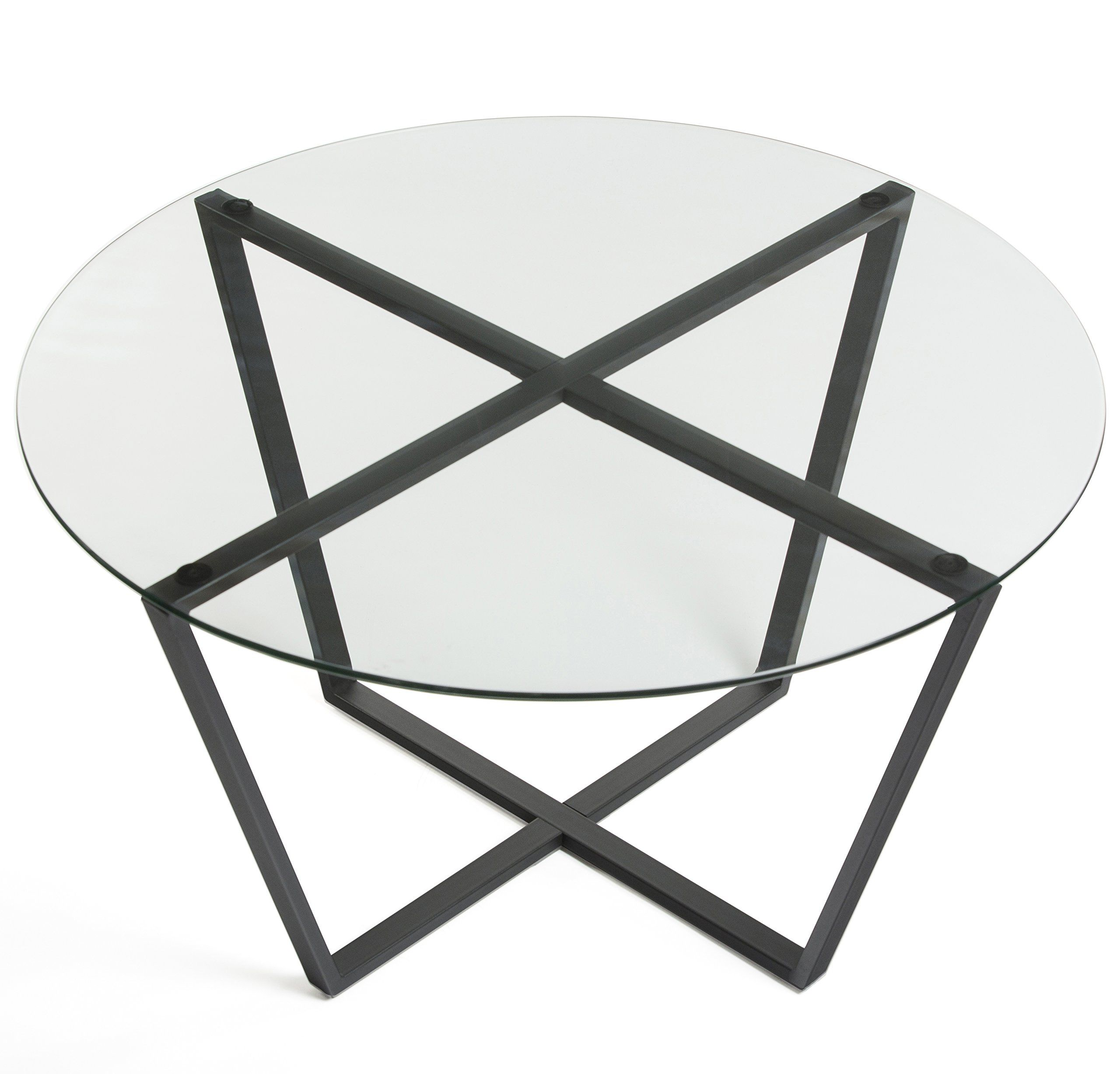 Mango Steam Metro Glass Coffee Table Clear Top Black Base To View Further For This Item Visit The Image Link Glass Coffee Table Glass End Tables Table [ 2455 x 2560 Pixel ]