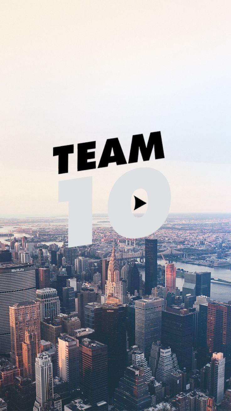 Team 10 is the best❤ Jake And Erika, Logan Jake Paul, Jake Paul
