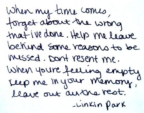 Love This Song Park Quotes Linkin Park Song Lyric Quotes