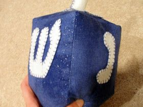 Hanukkah is coming soon!  It's early this year which means I had to get started in the fall with new ideas for decorating.  I made this dre...