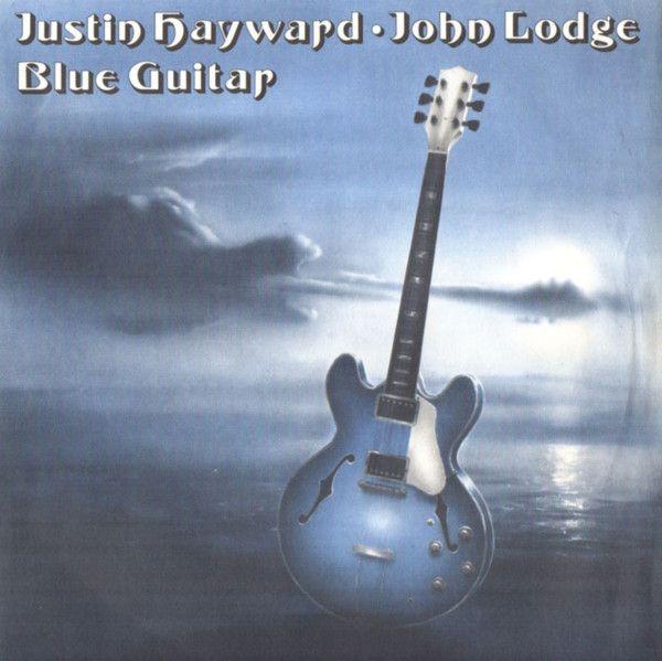 1975 Justin Hayward John Lodge Blue Guitar 7 Vinyl Threshold Th21 Artwork Phil Travers Albumcover Blues Guitar Justin Hayward Guitar