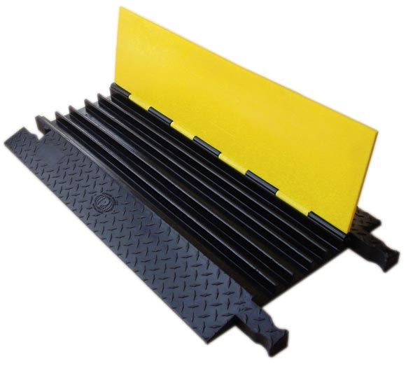 Yellowjacket Cable Protector Provides Extra Heavyduty Protection For Your Job Site Extremely Durable And Long L Cable Protector Floor Cord Cover The Unit