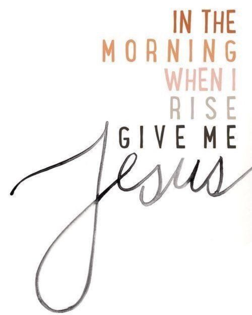 In the morning… @BibleQuote365 #BibleQuote365...