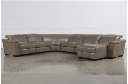 Astounding Skylar 6 Piece Power Reclining Sectional W Raf Chaise Main Gmtry Best Dining Table And Chair Ideas Images Gmtryco
