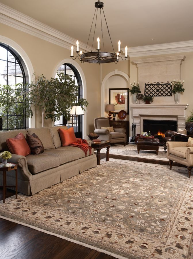 This area rug pulls together the whole room. | Rugs in ...
