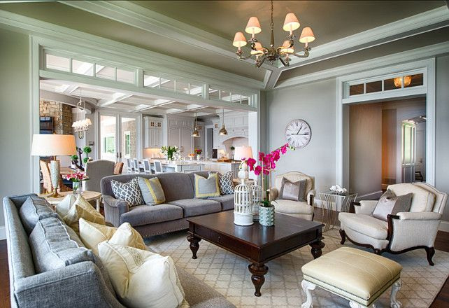 Living room with neutral color palette and soothing decor lovely hues and beautiful tailored furniture adds comfort and elegant to this space