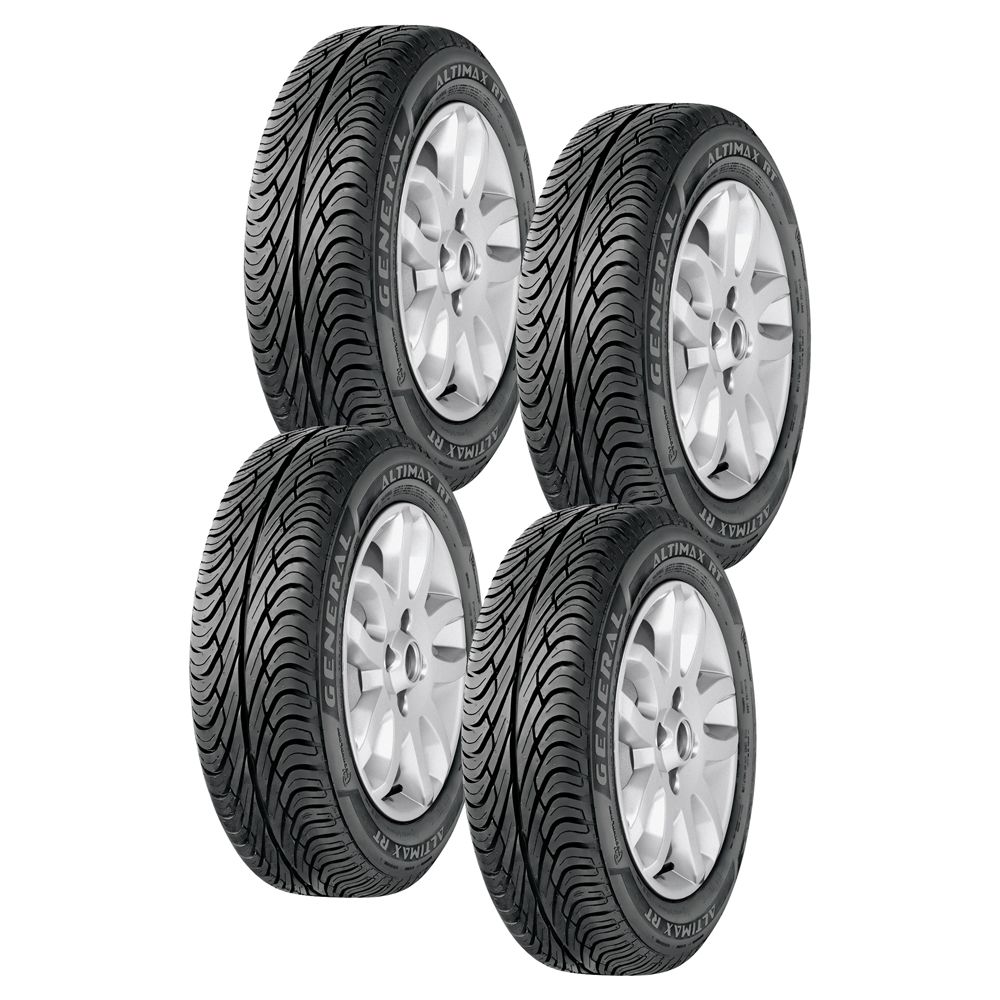 [EXTRAMOB]Pneu General Tire Altimax Rt 165/70 R13 4 Unidades - R$ 565,82
