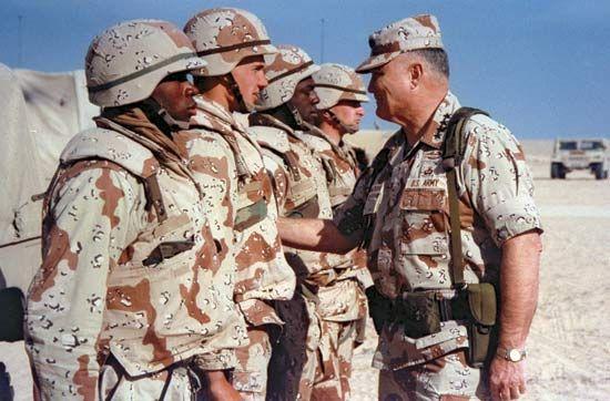 1//6 Scale USMC Op Desert Saber Kuwait Night Camouflage Uniform Set