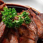 Photo of Rib-Eye Steak with Red Wine Sauce-Rib-Eye Steak with Red Win…